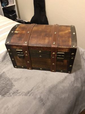 Antique wood box for Sale in Lancaster, CA