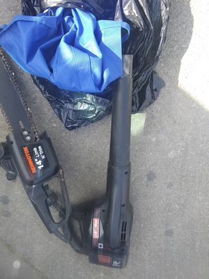 Hi I have a used trimmer and a leaf blower for sale for Sale in Alameda, CA