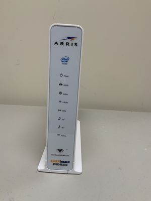 ARRIS SURFboard SVG2482AC Wireless Voice Gateway/Docsis 24x8 Cable Modem / Telephone / AC1750 Router - Certified for XFINITYCOMCAST- Download speed: for Sale in Red Lion, PA