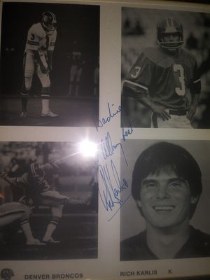 Richard karlis signed autograph to my grandma for Sale in Denver, CO