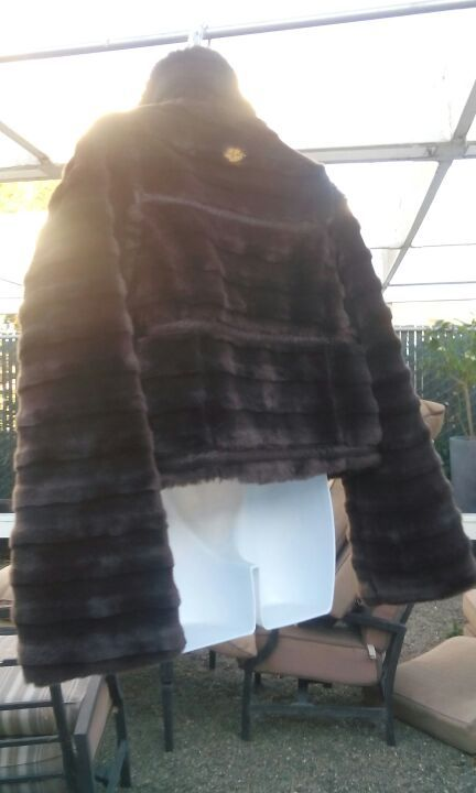 Authentic Brown Baby Phat Faux Fur Jacket Vest for Sale in Hayward 59a088070