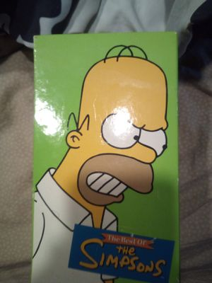 Best of the Simpsons vhs for Sale in Joliet, IL
