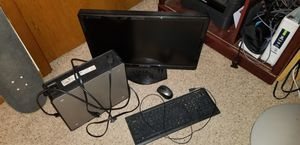 Dell Computer, Monitor, and Keyboard for Sale in Kechi, KS