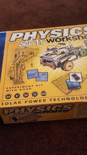 Physics solar Workshop kit for Sale in Lacey, WA