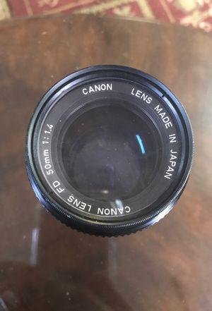 Canon camera lens for Sale in Lawrenceville, GA