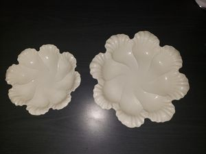 2 flower bowls Lenox candy dish bowl for Sale in Galloway, NJ