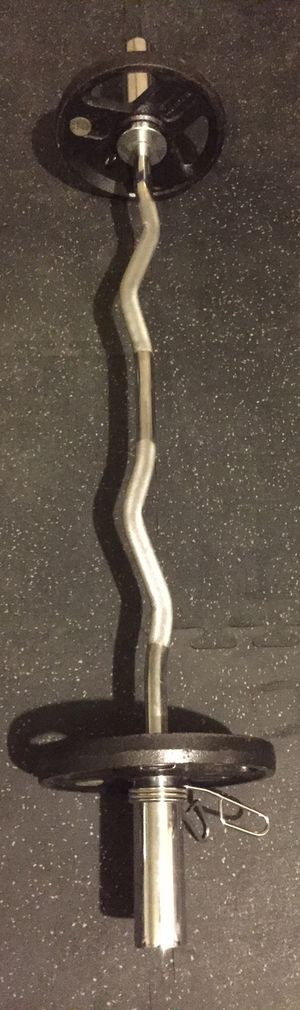 Olympic Curl Bar (Bar only) for Sale in Las Vegas, NV