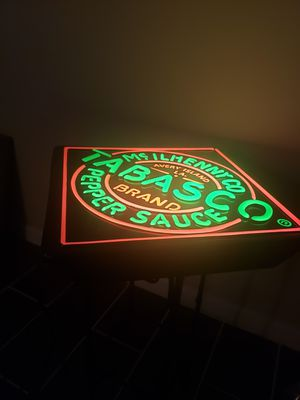 Tabasco light sign 16×16×5 for Sale in South Saint Paul, MN