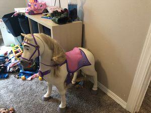 Little girls Rapunzel horse for Sale in Gladstone, OR