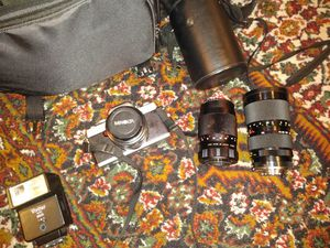 Minolta x g 7 with extras for Sale in Pensacola, FL
