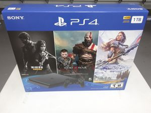 Sale ps4 1tb + 3 games new and sealed for Sale in Miramar, FL