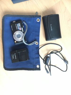 Panasonic digital camera with accessories for Sale in Boston, MA