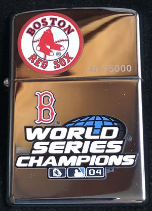 Zippo 2004 Red Sox numbered for Sale in North Providence, RI