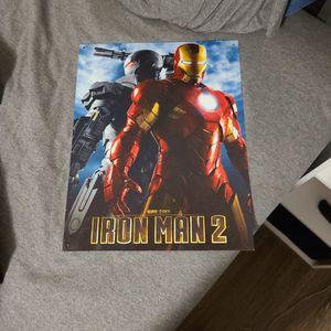 Iron Man 2 Metal Frame for Sale in Orlando, FL