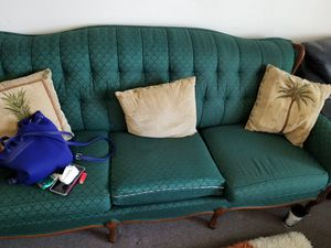 Green sofa for Sale in US