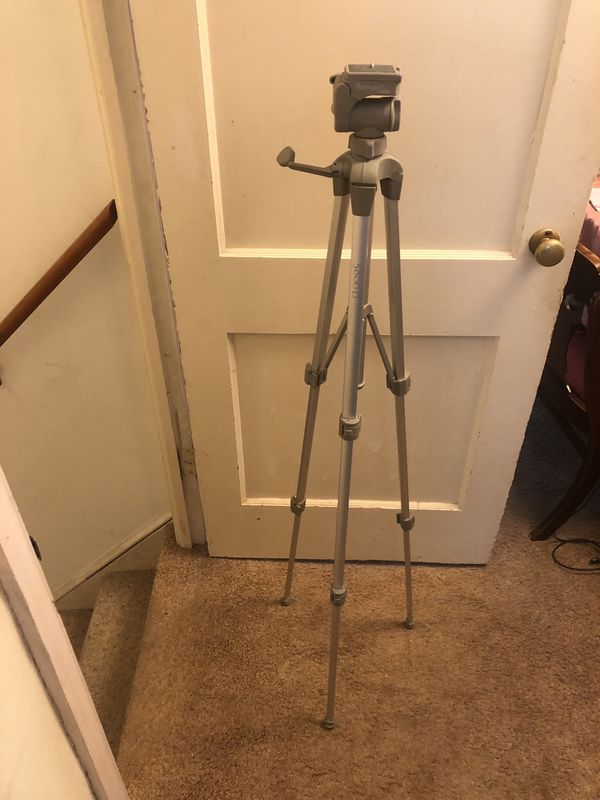 Tripod (collapsible-light weight) platinum plus by Sunpak.
