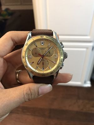 Victorinox Swiss Army men's watch for Sale in Arlington, TX