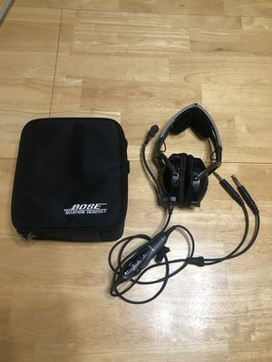 Bose Aviation AHX-32-01 noise cancelling headset for Sale in Frisco, TX