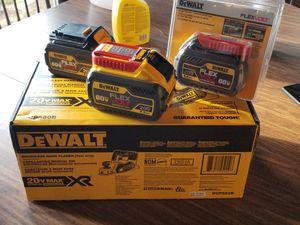 Dewalt planner and flexvolt batteries great deal!! for Sale in Sturbridge, MA
