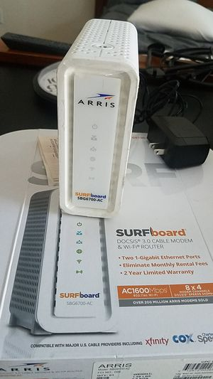 ARRis Wifi modem & Router for Sale in Danbury, CT