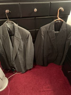 Men's suits and raincoat for Sale in DeSoto, TX