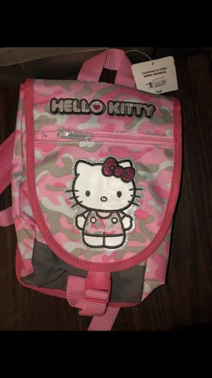 Hello Kitty Backpack for toddlers/kids BRAND NEW with color book & letters BUNDLE for Sale in South Gate, CA