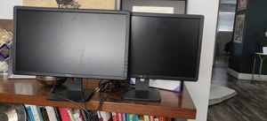 """Dell Monitors 21"""" - buy one get one free! for Sale in Fort Lauderdale, FL"""