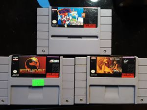 Super Nintendo games for Sale in Snohomish, WA