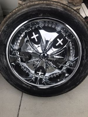 """Rims 22"""" inch $450 set of 4 for Sale in Fontana, CA"""