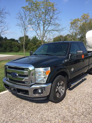 2013 Ford F-350 Lariat 6.7 Diesel Engine. 2 wheel drive with electronic locking rear axle. Fifth wheel hitch rails installed for Sale in Metamora, MI