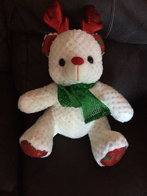 Christmas Stuffed Bear for Sale in Crestview, FL