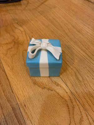 Ceramic Tiffany & Co box for Sale in New York, NY