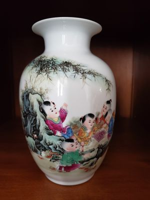 Chinese Vase with children on it. for Sale in Spartanburg, SC