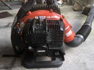 Lightly used Echo backpack blower for Sale in Seattle, WA