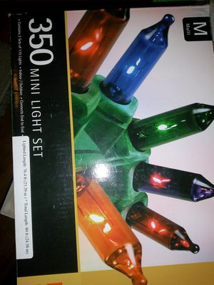 Chris Christmas lights and ornaments all for 40$ must pick in Washington DC for Sale in Washington, DC