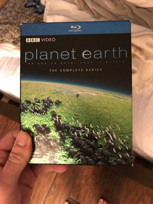 Planet earth the complete series BLU-RAY for Sale in FL, US