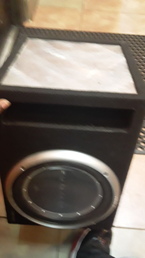 Rockford forsgate 12in sub-woofer