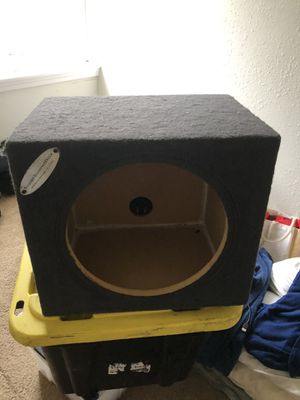 Subwoofer box for Sale in Tacoma, WA