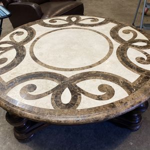 Thomasville marble coffee table for Sale in San Diego, CA
