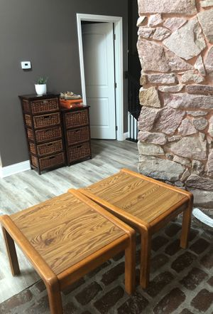 Set of two end tables for Sale in Mokena, IL