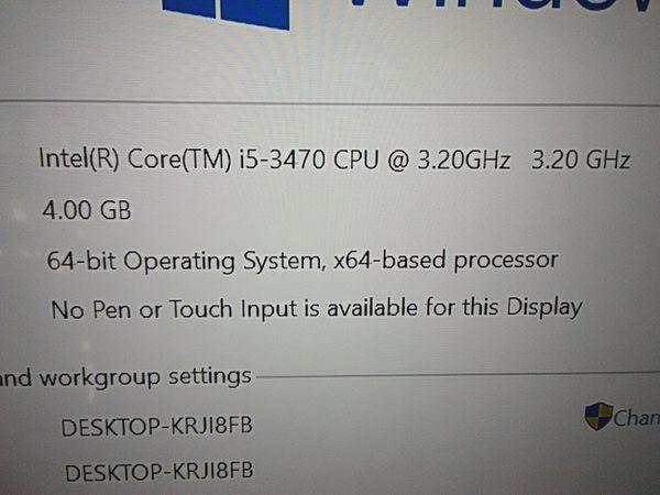 Dell Windows 10 desktop computer with Microsoft Office Pro