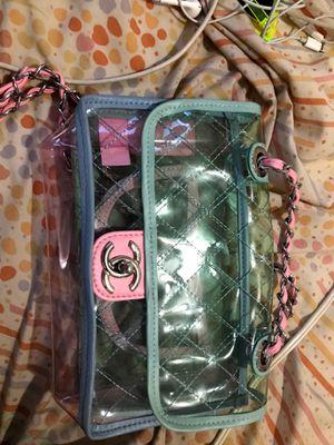 Clear Chanel bag size medium for Sale in Glenarden, MD