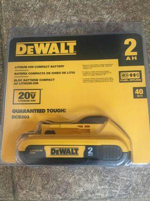 Dewalt Dcb203 20v 2AH Battery for Sale in Vancouver, WA