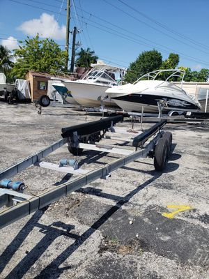Boat trailer 24 tandem axle for Sale in Davie, FL