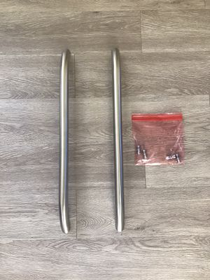 2 GE refrigerator handles stainless steel for Sale in McDonough, GA