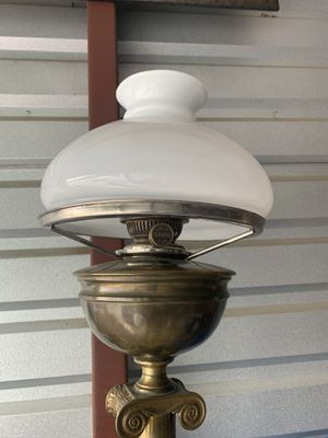 Antique Brass Oil Floor Lamp for Sale in Snellville, GA