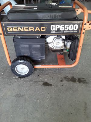 Generac 6500 generator 45 hours on it like new for Sale in Sachse, TX