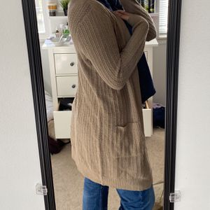 forever 21 brown cardigan for Sale in Dublin, OH
