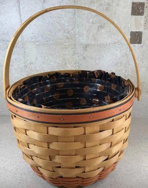 """Longaberger 1995 Pumpkin Basket 9"""" for Sale in Rosedale, MD"""