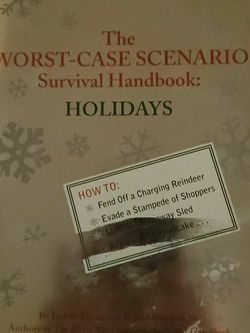 The worst case scenario Survival Book - Holidays for Sale in Dublin, OH